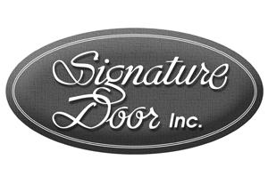 Signature door provider logo