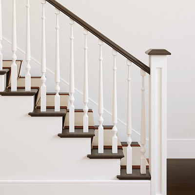 Stair Railing from Mouldings Inc